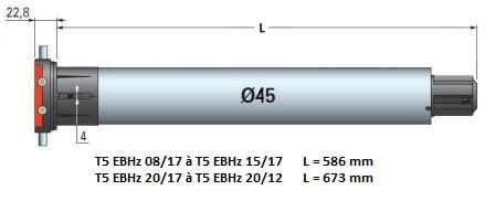 Dimensions T5 EBHz